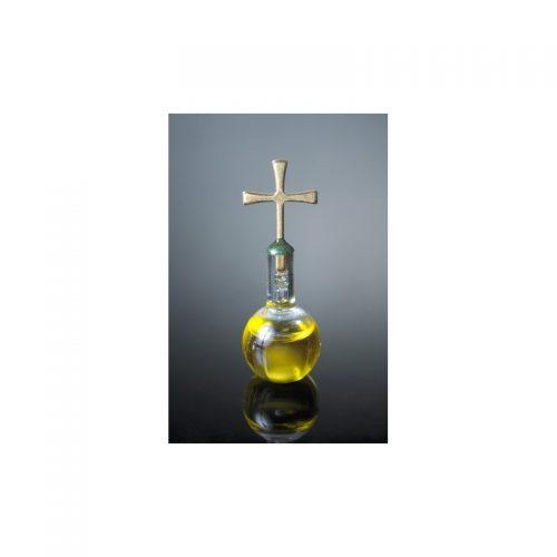Burbuja base plana con aceite de oliva, oro laminado 24k-110
