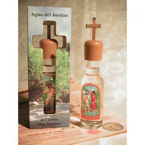 Agua del río Jordán con Certificado de Bautismo-207