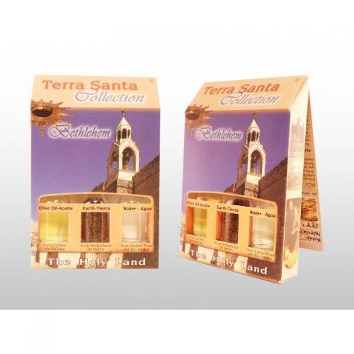 Terra Santa Collection 3 botellas: Agua, Tierra e Incienso (Caja de lujo en Español)-371