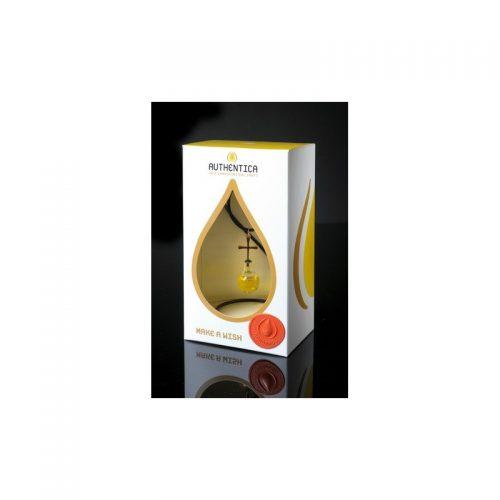 Empaque de lujo con colgante de espiral con aceite de oliva, oro laminado 24k-90