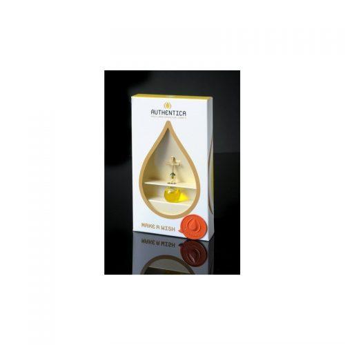 Empaque de lujo con burbuja base plana con aceite de oliva, oro laminado 24k-97