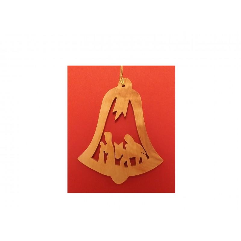 Adorno Colgante Navideño - Hecho a mano con madera de olivo-269