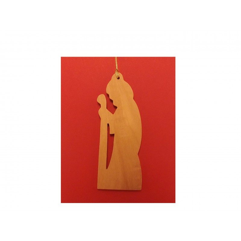 Adorno Colgante Navideño - Hecho a mano con madera de olivo-271