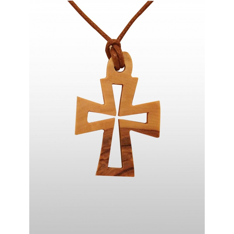 0172831da16 Colgante Cruz Varios Diseños – Hecho de madera de olivo – Pequeño ...