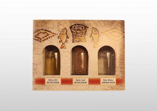 Cajas de Regalo con Agua, Tierra y Aceite