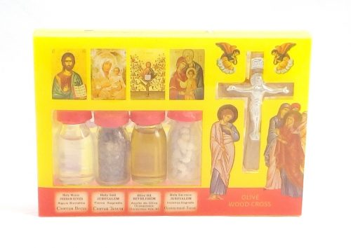 Caja con Cruz y 4 esencias